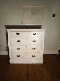 Antique Pine Chest (free local delivery)