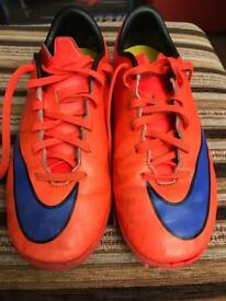 Nike Mercurial Football Boots, size UK 4