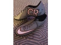 CR7 astro turf football boots