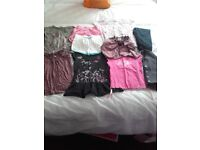 Age 5-6 girls £5 for all. 4x t shirts,2x shorts,2 cardigans,shorty jumper & black jeans.see all ads