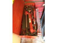 Sealey super snap hydraulic body repair kit 10 tonne