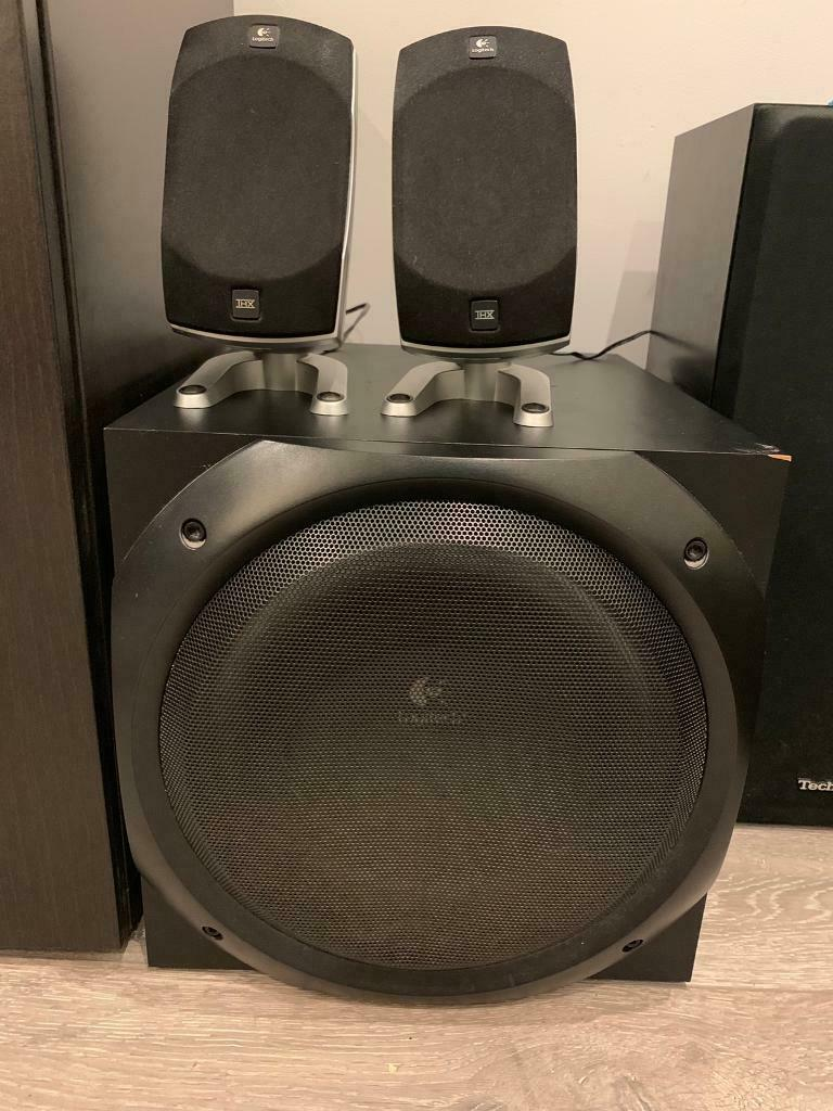 Logitech Z5500 5 1 surround sound speaker excellent condition | in  Redbridge, London | Gumtree