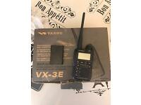 Yaesu vx3 possible delivery depending on where