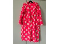 GIRLS HOODED DRESSING GOWN