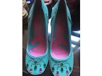 Size 4 (37) irregular choice shoes