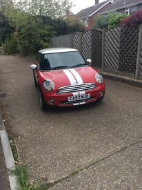 Mini Cooper 1.6 hatchback, great condition, chilli pack, MOT due December 2017, fully serviced