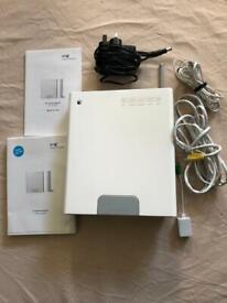 White BT Home Hub Broadband Wireless