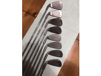 Set of Ping G5 irons (Re-Gripped) (Right handed)