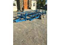Plant trailer braking twin axle £750