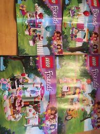 Friends Lego party set