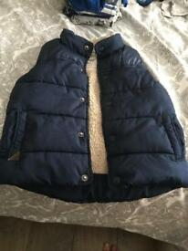 Next boys gilet size 2-3