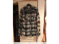 Mens next checked shirt size large