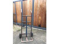 Cast iron sack trolley