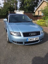 Audi A4 Cabriolet 3.0 Sport 220bhp ! Manual Only 65k Superb condition Ad With VIDEOLINK