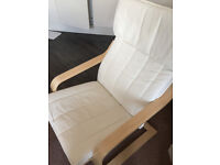 Poang Armchair (white)