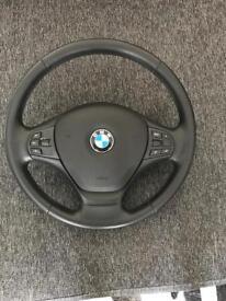 BMW 320 f30 sterring wheel