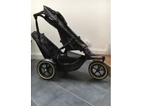 Phil & Ted double pram in Excellent condition