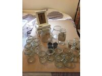Various wedding Items (ideal for centre pieces)