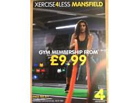 £9.99 membership for new gym opening in Dundee.