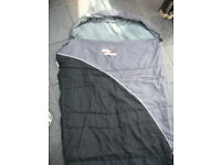 Sleeping Bag - Black and Grey