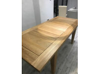 Solid Ash Extendable Dining Table