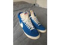 Nike Trainers (Blazers) Blue Size 8