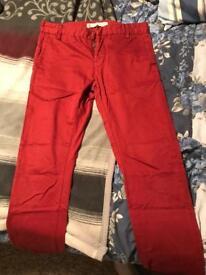 River Island men's trousers (32R)