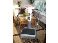 Motive Fitness oscillating machine, stand on with hand rails. with adjustable speed.