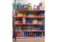 Shop shelving Whitley bay 1.25 m wide