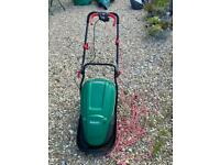 Qualcast electric rotary lawnmower used but works