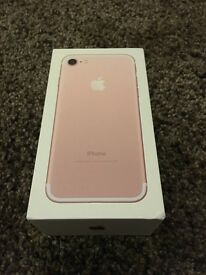 iPhone 7 128Gb Rose Gold Locked to EE