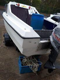 16.5 cjr boat with 20hp mariner