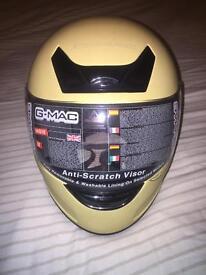 G-MAC motorcycle helmet - size medium - new/never worn.