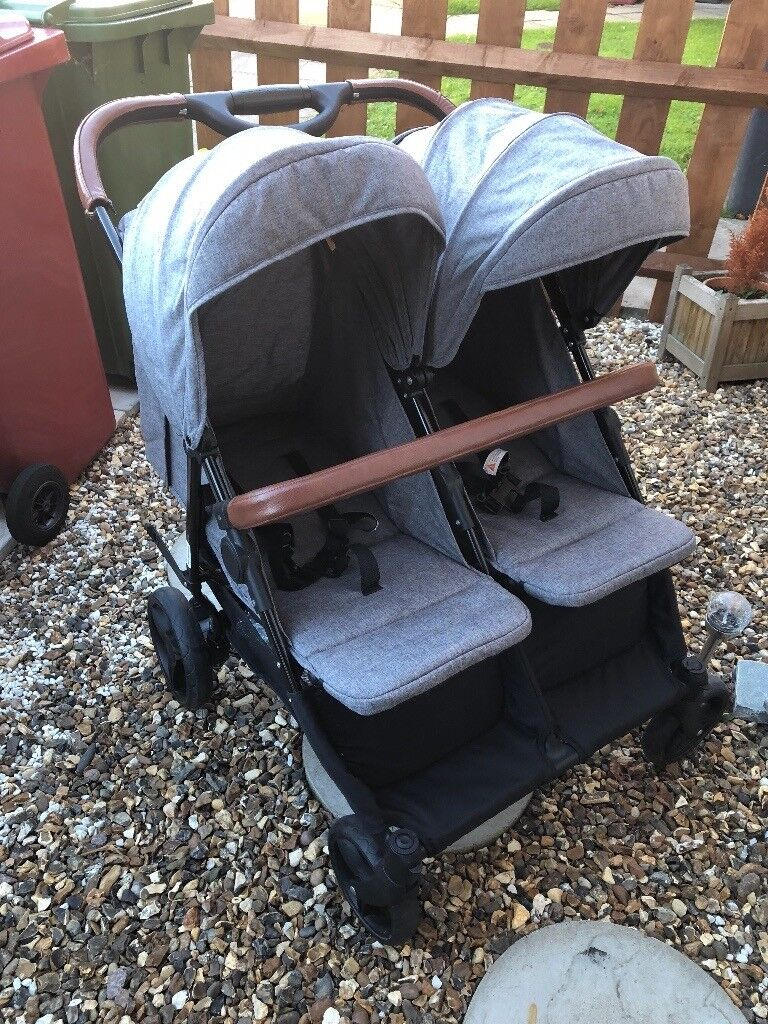 Hamilton turnberry double Stroller from birth | in Slough ...