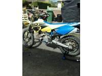 Husaberg fe450 road registered enduro / motocross bike