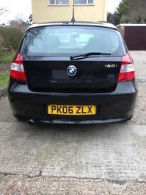 BMW 1 series 120i Black