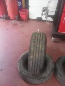 205/65/15 Set of 4 mismatch Zeetex and Weatherman all season Tires, include installation, , 6mm , 60% Tread
