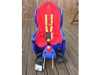Hamax toddler rear bike seat