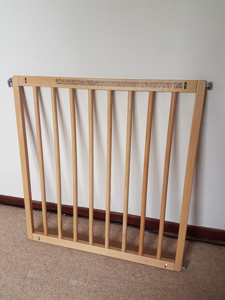Babydan No Trip Beechwood Safety Gate For Sale In Poole Dorset