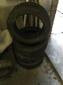 Like new tyres