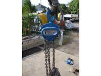 1 ton chain hoist block and tackle