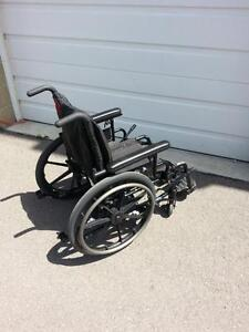 """#032  16"""" Invacare Patriot Aluminum Frame Manual Folding Wheelchair in excellent condition for ONLY $250"""