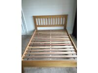 King bed from John Lewis oak