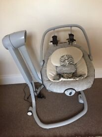 Joie 2 in 1 swing nearly new condition, still has packaging on it