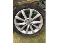 "Volkswagen Golf mk7 gt tdi alloys 17"" (caddy touran Passat Jetta audi )"
