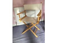 One Folding Garden Director's Chair Excellent condition