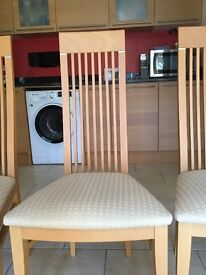 Dining room chairs x 6