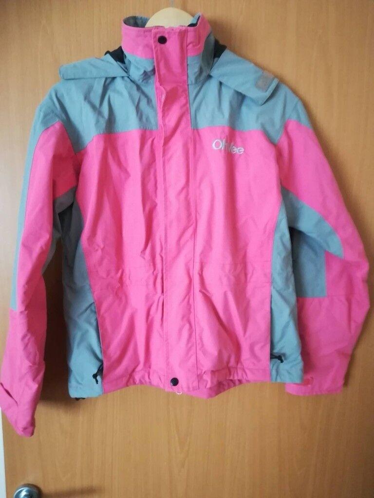 0acbf2952c0c Pink grey women jacket coat waterproof