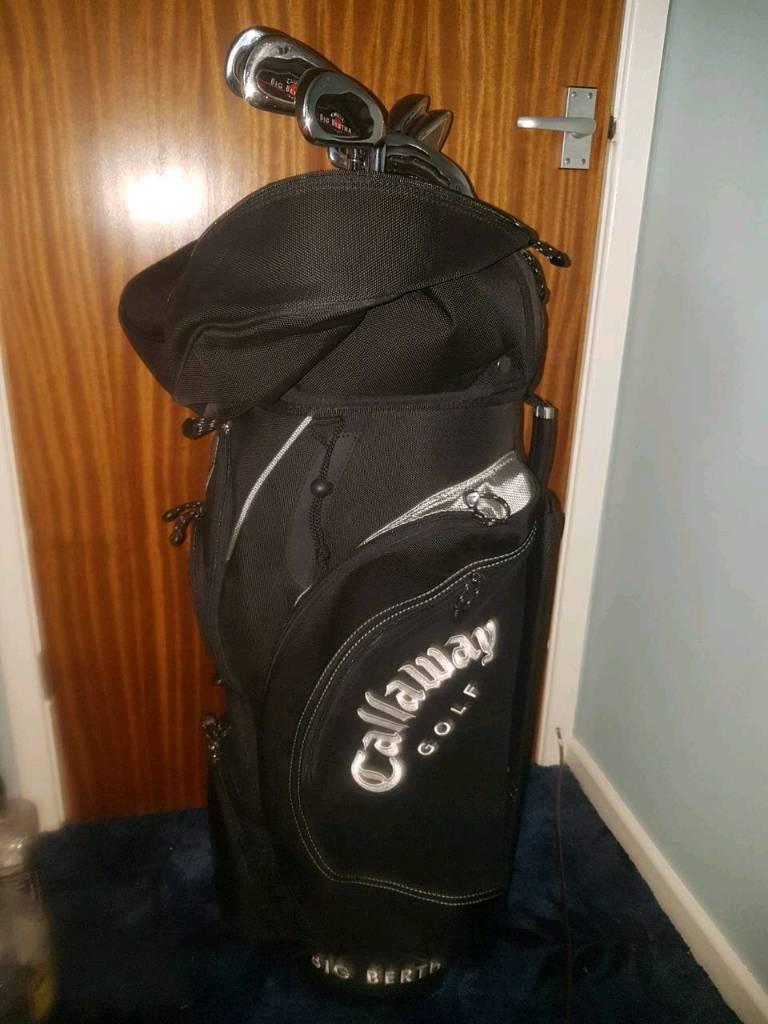 Callaway Golf Bag and Irons