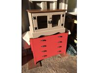 TV Cabinet and Drawers